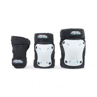 REKD Triple Pad Set white/black