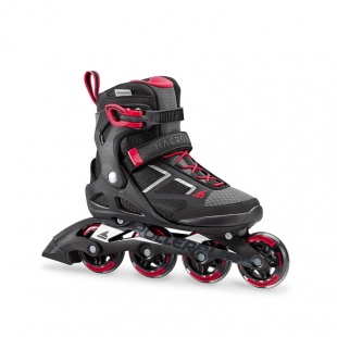 ROLLERBLADE MACROBLADE 80 W blk/red