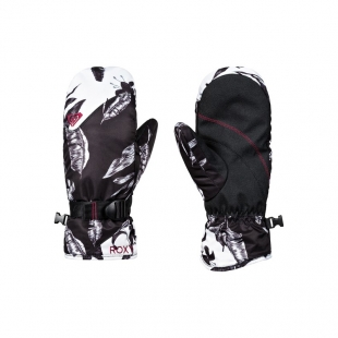 ROXY Jetty Mitt Black Love Letter