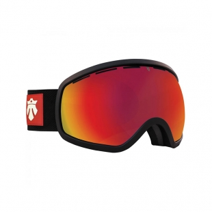 MAJESTY Gogle Majesty One11 black matt/red ruby