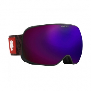 MAJESTY THE FORCE SPHERICAL BLACK FRAME / ultraviolet lens