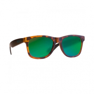 MAJESTY Shades L+ tortoise green revo