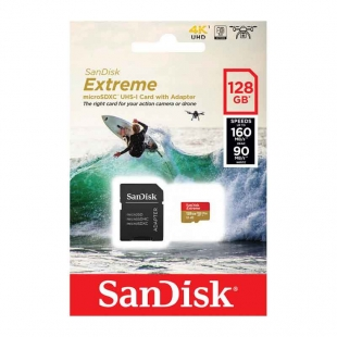 SANDISK MICRO SD EXTREME SDHC 128 GB