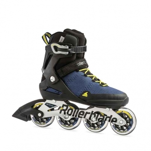 ROLLERBLADE SPARK 84 TWILIGHT BLUE/LIME