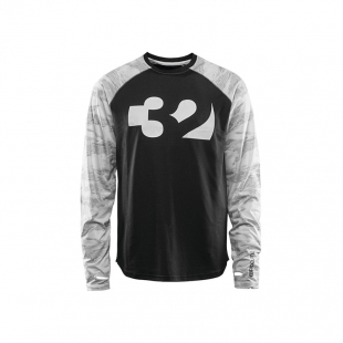 THIRTY TWO RIDELITE LONGSLEEVE White Camo