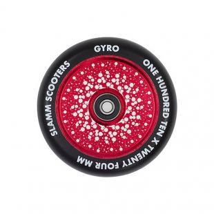 SLAMM Kółko Gyro Hollow Core Red 110 mm