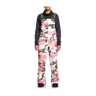 DC COLLECTIVE SNOW BIB PANTS Vintage Camo