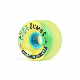 FREE WHEELS Free Dumbs V2 65mm Gold