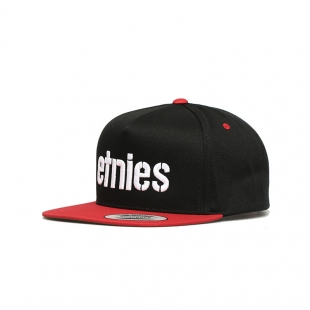 ETNIES Corp Snapback Black/Red
