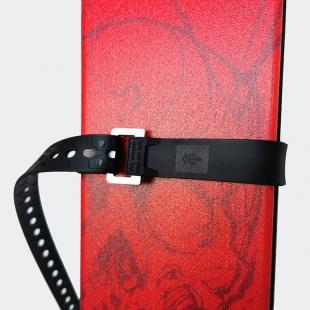 MAJESTY Tech Ski Strap Black 66cm