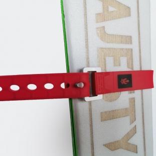 MAJESTY Tech Ski Strap Red 46cm