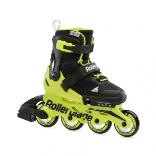 ROLLERBLADE MICROBLADE BLACK/ NEON YELLOW