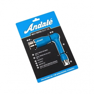 Andale skate tool ratchet blue