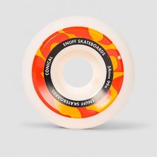 ENUFF CONICAL 54mm White/Orange