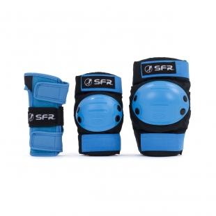 SFR Triple Pad Set Black/Blue