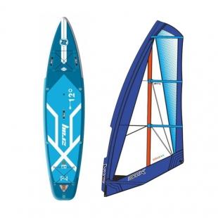 ZRAY TESTOWA Deska WindSUP F4 FURY EPIC 12' + Evolve Rig + Cardan joint