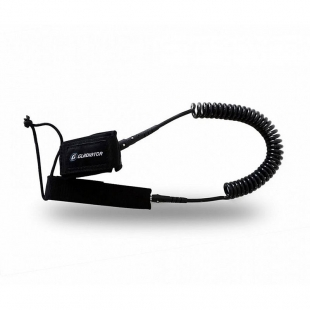 GLADIATOR Pro Coil Leash 10' black