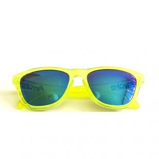 Awake Clear Neon Yellow/Green Blue Mirror