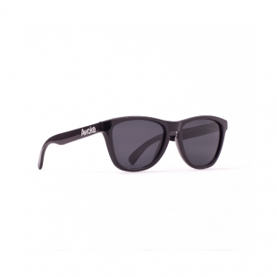 Awake Polished Black - Grey Polarized