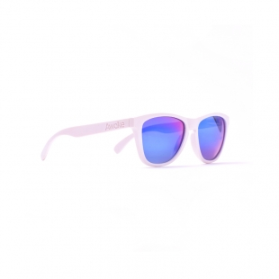 Awake Matte White - Blue Polarized