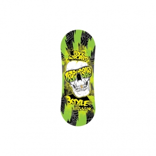 TRICKBOARD WHITE SKULL junior