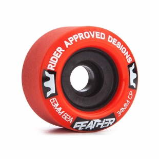 RAD FEATHER 63MM 82A RED