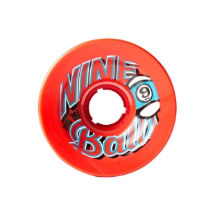 SECTOR 9 TOP SHELF 74MM 78A OS RED