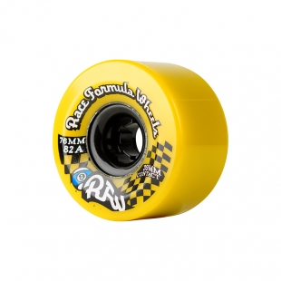 SECTOR 9 RACE FORMULA 76MM 78A CS YELLOW