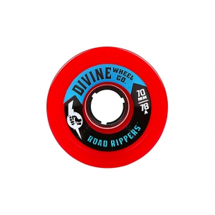 DIVINE ROAD RIPPERS 70MM 78A RED
