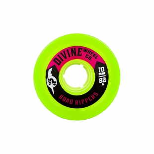 DIVINE ROAD RIPPERS 70MM 82A LIME GREEN