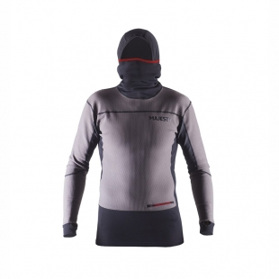 MAJESTY Heatshield Base Layer Top graphite/black