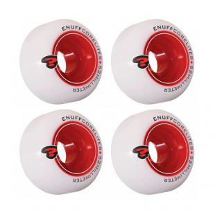 ENUFF Corelites White/Red 52mm