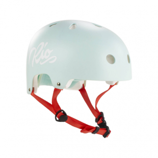 RIO ROLLER Script Helmet Teal